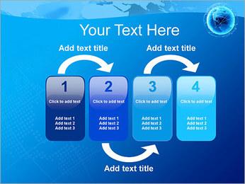 Globo en Web Plantillas de Presentaciones PowerPoint - Diapositiva 11