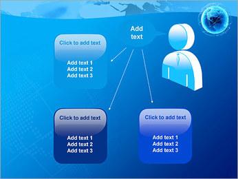 Globo en Web Plantillas de Presentaciones PowerPoint - Diapositiva 12
