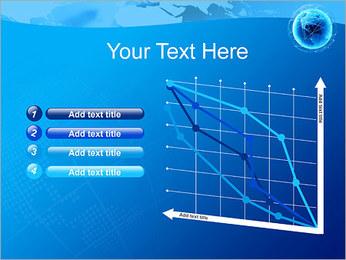 Globo en Web Plantillas de Presentaciones PowerPoint - Diapositiva 13