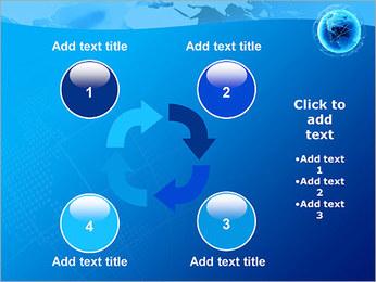 Globo en Web Plantillas de Presentaciones PowerPoint - Diapositiva 14
