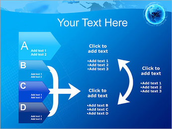 Globo en Web Plantillas de Presentaciones PowerPoint - Diapositiva 16