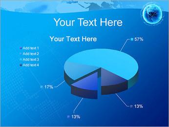Globo en Web Plantillas de Presentaciones PowerPoint - Diapositiva 19