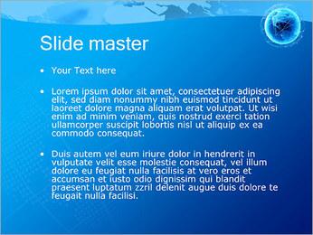 Globo en Web Plantillas de Presentaciones PowerPoint - Diapositiva 2