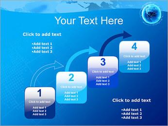 Globo en Web Plantillas de Presentaciones PowerPoint - Diapositiva 20
