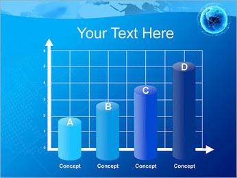 Globo en Web Plantillas de Presentaciones PowerPoint - Diapositiva 21