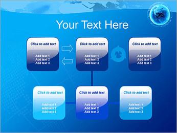 Globo en Web Plantillas de Presentaciones PowerPoint - Diapositiva 23
