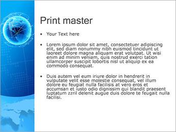 Globo en Web Plantillas de Presentaciones PowerPoint - Diapositiva 24