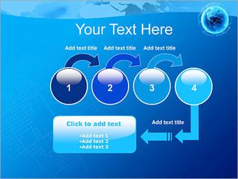 Globo en Web Plantillas de Presentaciones PowerPoint - Diapositiva 4