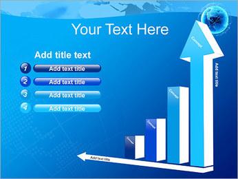 Globo en Web Plantillas de Presentaciones PowerPoint - Diapositiva 6