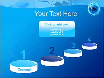 Globo en Web Plantillas de Presentaciones PowerPoint - Diapositiva 7