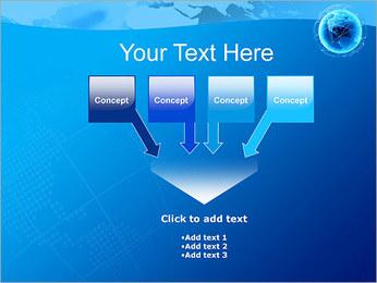 Globo en Web Plantillas de Presentaciones PowerPoint - Diapositiva 8
