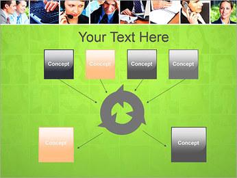 Gente de negocios Set Plantillas de Presentaciones PowerPoint - Diapositiva 10
