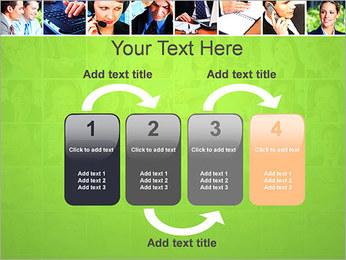 Gente de negocios Set Plantillas de Presentaciones PowerPoint - Diapositiva 11