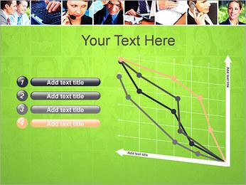 Gente de negocios Set Plantillas de Presentaciones PowerPoint - Diapositiva 13