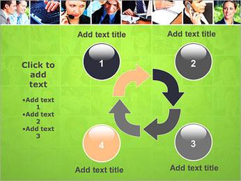 Gente de negocios Set Plantillas de Presentaciones PowerPoint - Diapositiva 14