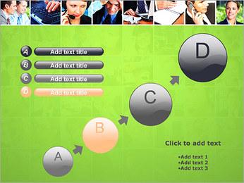 Gente de negocios Set Plantillas de Presentaciones PowerPoint - Diapositiva 15
