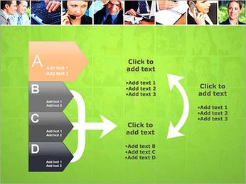 Gente de negocios Set Plantillas de Presentaciones PowerPoint - Diapositiva 16