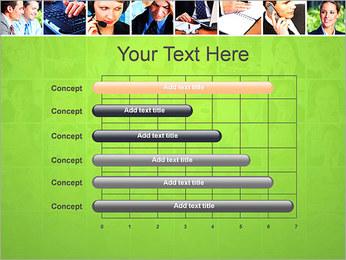 Gente de negocios Set Plantillas de Presentaciones PowerPoint - Diapositiva 17