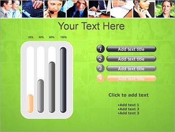 Gente de negocios Set Plantillas de Presentaciones PowerPoint - Diapositiva 18