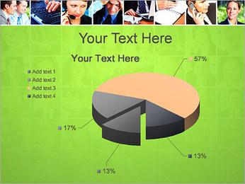 Gente de negocios Set Plantillas de Presentaciones PowerPoint - Diapositiva 19