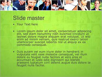Gente de negocios Set Plantillas de Presentaciones PowerPoint - Diapositiva 2