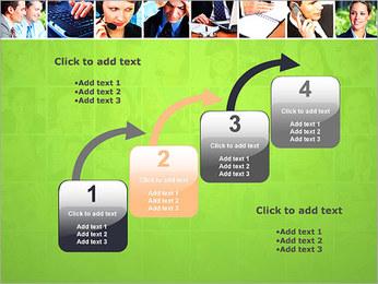 Gente de negocios Set Plantillas de Presentaciones PowerPoint - Diapositiva 20