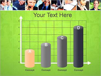 Gente de negocios Set Plantillas de Presentaciones PowerPoint - Diapositiva 21