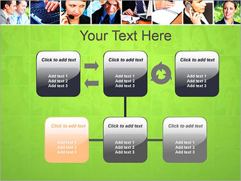 Gente de negocios Set Plantillas de Presentaciones PowerPoint - Diapositiva 23