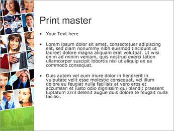 Gente de negocios Set Plantillas de Presentaciones PowerPoint - Diapositiva 24