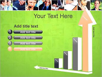 Gente de negocios Set Plantillas de Presentaciones PowerPoint - Diapositiva 6