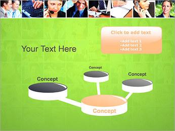 Gente de negocios Set Plantillas de Presentaciones PowerPoint - Diapositiva 9