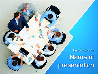Consulting Concept PowerPoint Template