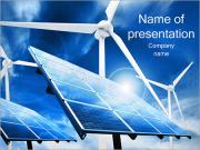 Sun Power and Wind PowerPoint Templates