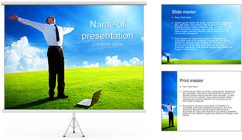 Internet Freedom Concept PowerPoint Template