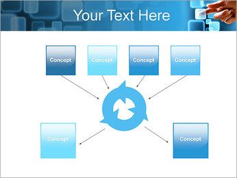 Touch Screen Interface PowerPoint Template - Slide 10
