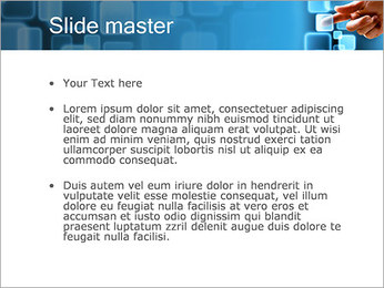 Touch Screen Interface PowerPoint Template - Slide 2