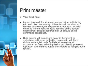 Touch Screen Interface PowerPoint Template - Slide 24