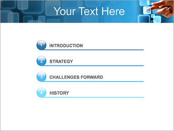 Touch Screen Interface PowerPoint Template - Slide 3