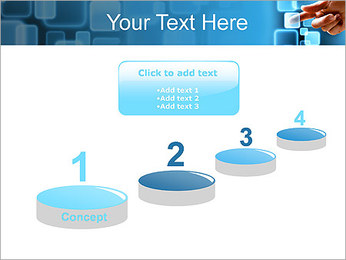 Touch Screen Interface PowerPoint Template - Slide 7