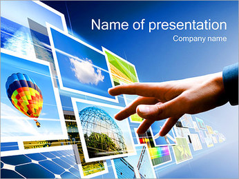 New Tech Concept PowerPoint Template