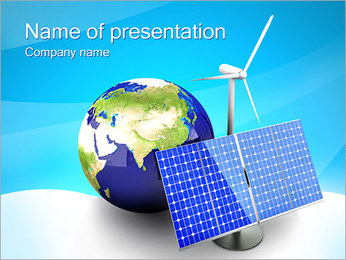 Green Planet Concept PowerPoint Template