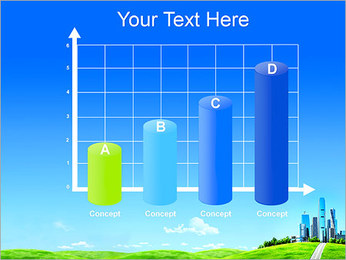 Conceito Cidade Verde Modelos de apresentações PowerPoint - Slide 21