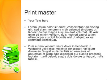 E-Book Concept PowerPoint Template - Slide 24