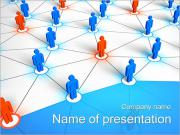 People Network Concept PowerPoint Templates