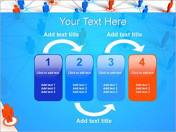 Concepto de red Plantillas de Presentaciones PowerPoint - Diapositiva 11