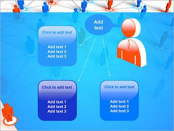 Concepto de red Plantillas de Presentaciones PowerPoint - Diapositiva 12