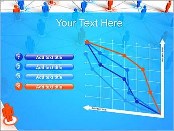 Concepto de red Plantillas de Presentaciones PowerPoint - Diapositiva 13