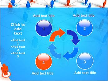 Concepto de red Plantillas de Presentaciones PowerPoint - Diapositiva 14