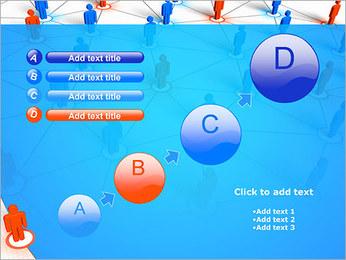 Concepto de red Plantillas de Presentaciones PowerPoint - Diapositiva 15