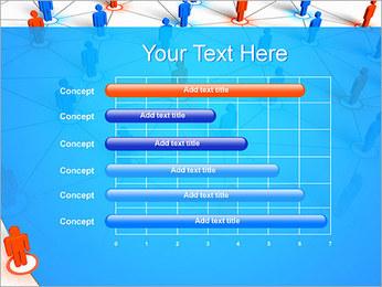 Concepto de red Plantillas de Presentaciones PowerPoint - Diapositiva 17